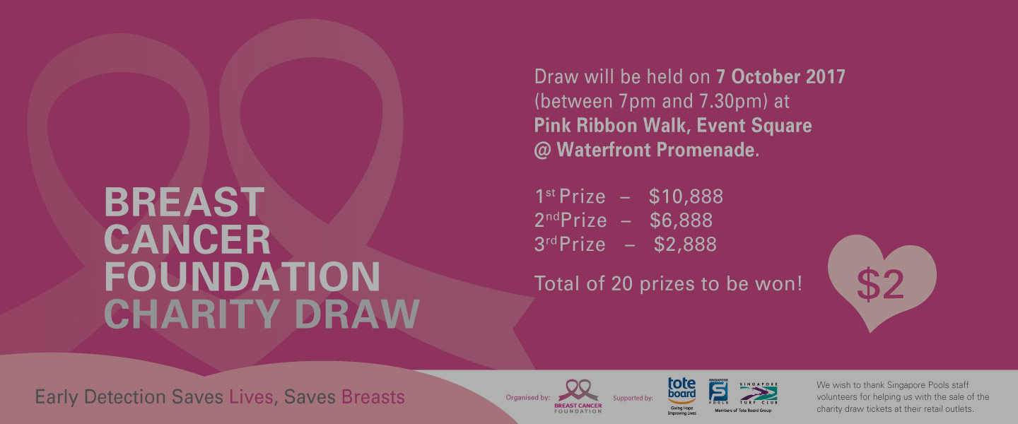 Breast Cancer Foundation Charity Draw 2017 Results