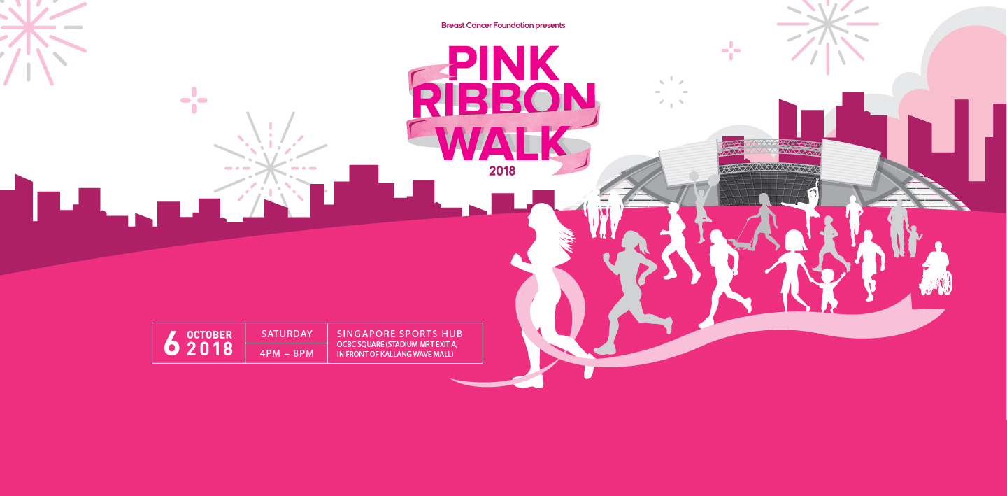 Pink Ribbon Walk 2018