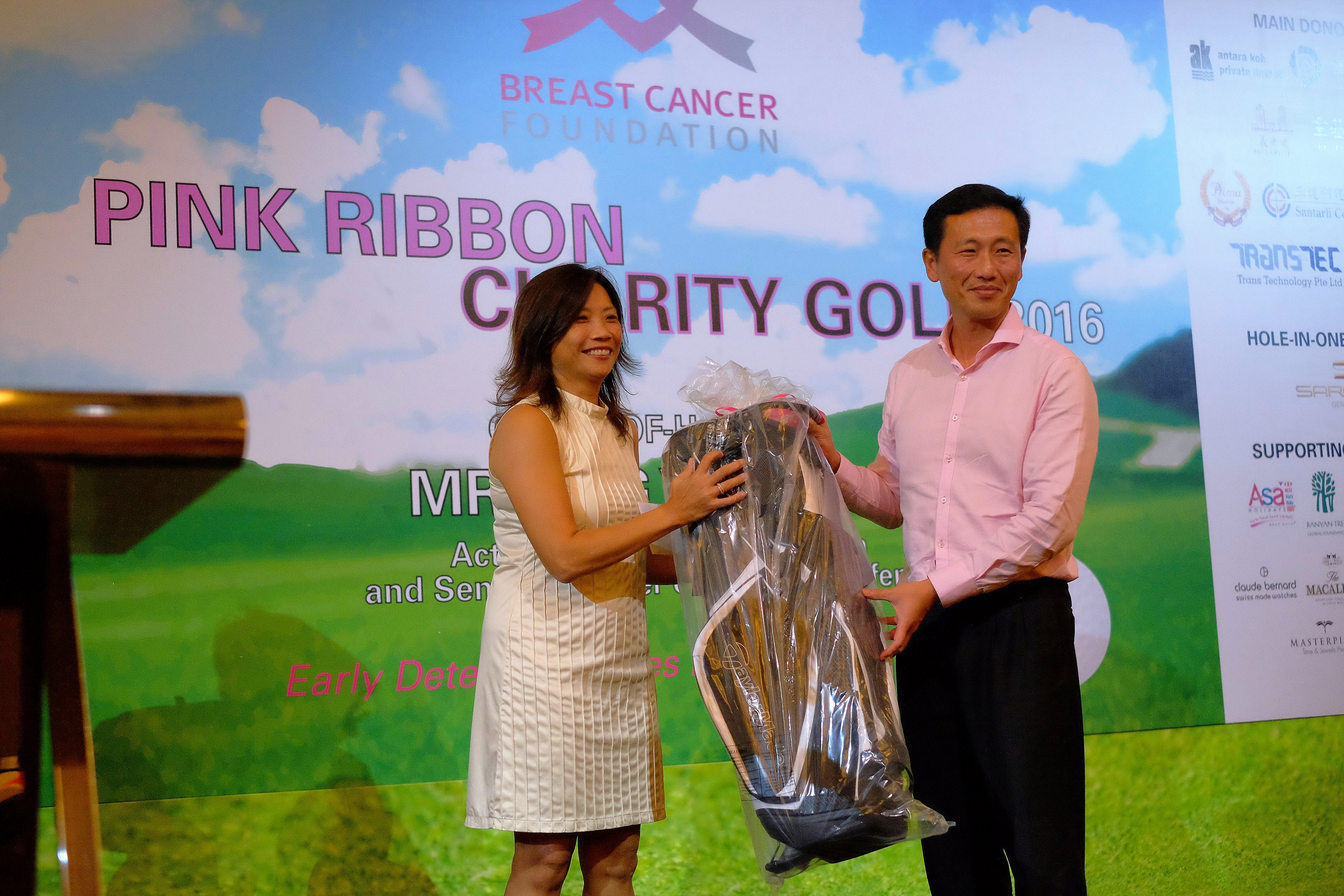 Pink Ribbon Charity Golf 2016