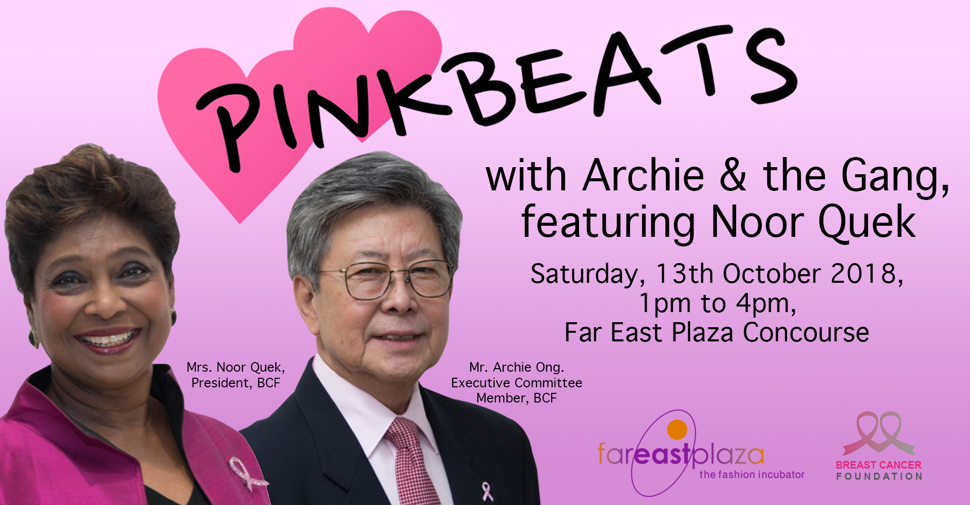 PINKBEATS with Archie & the Gang, featuring Noor Quek