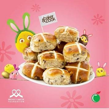 Hot Cross Buns for Easter - $1 goes to BCF