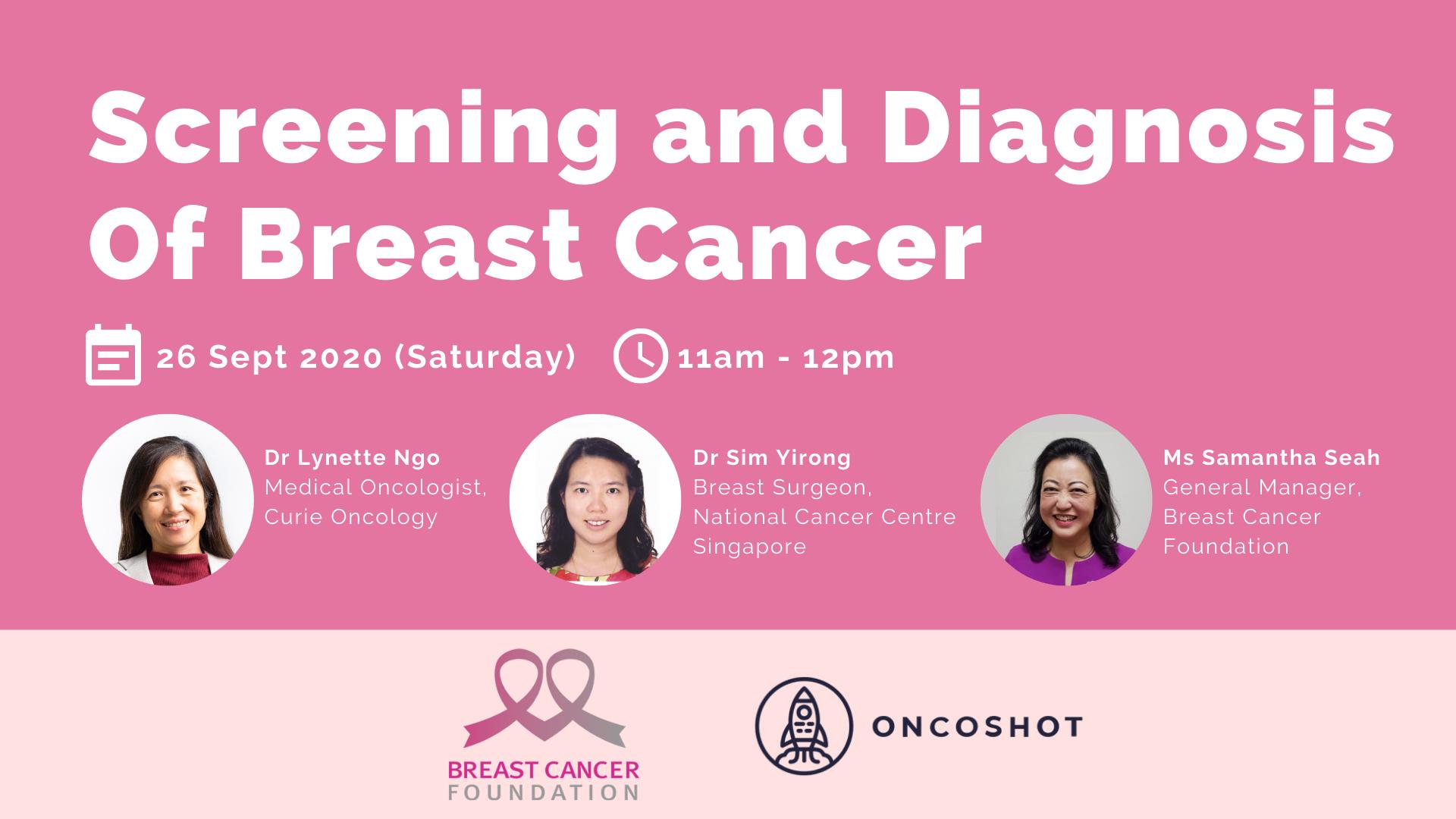 Screening and Diagnosis of Breast Cancer (Webinar)