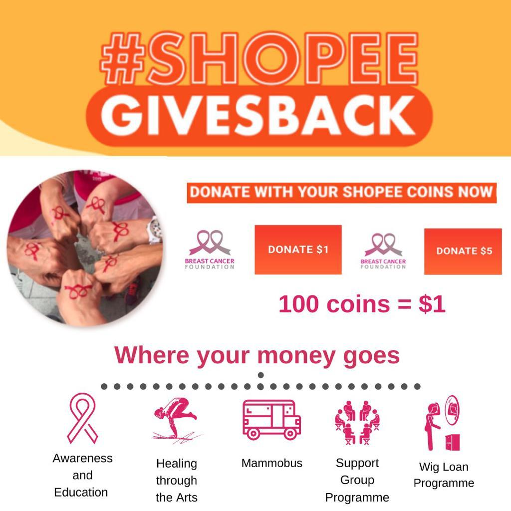 Coins For A Cause - Donate Your Shoppee Coins to BCF!