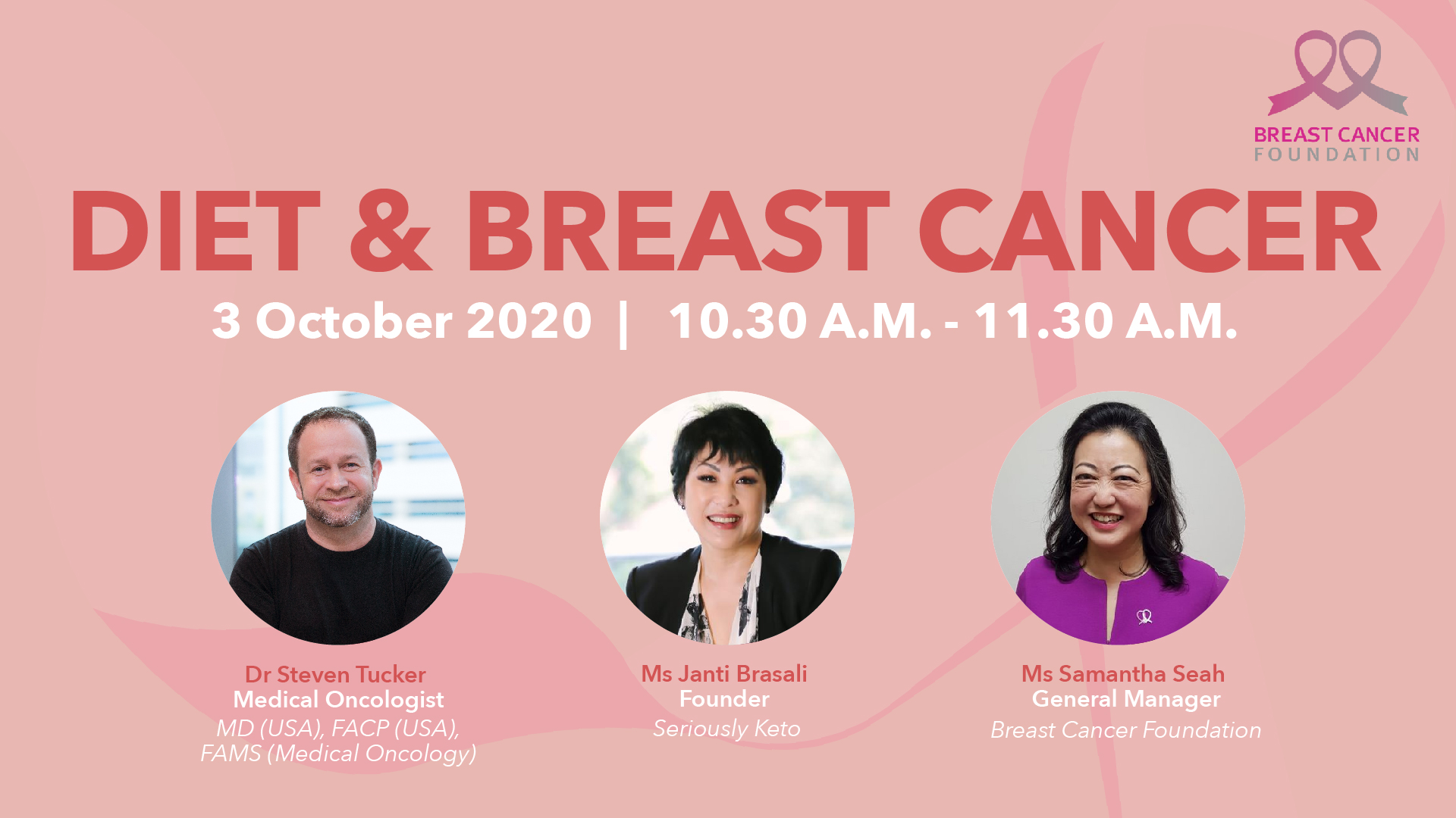Diet and Breast Cancer (Webinar)